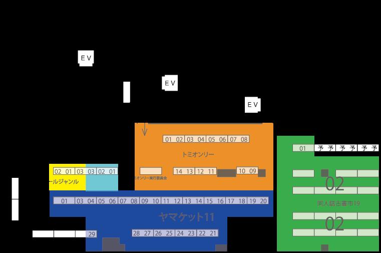 3階配置図